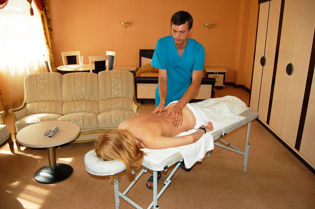 Санатории с хорошим массажем